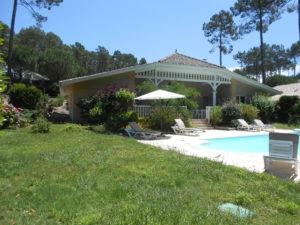 villa jardin Lacanau