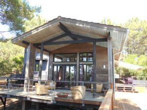 Maison atypique sur la pinède du baganais