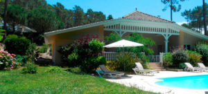 Villa avec piscine à Lacanau